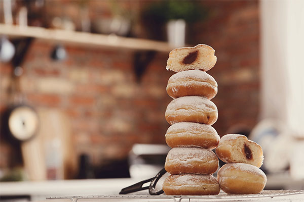 Stack of doughnuts